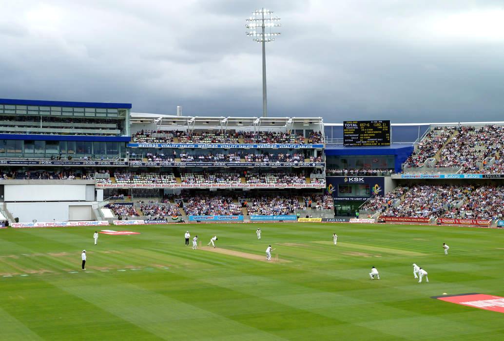 England v New Zealand: 'Edgbaston doubles up as world's largest stag do'