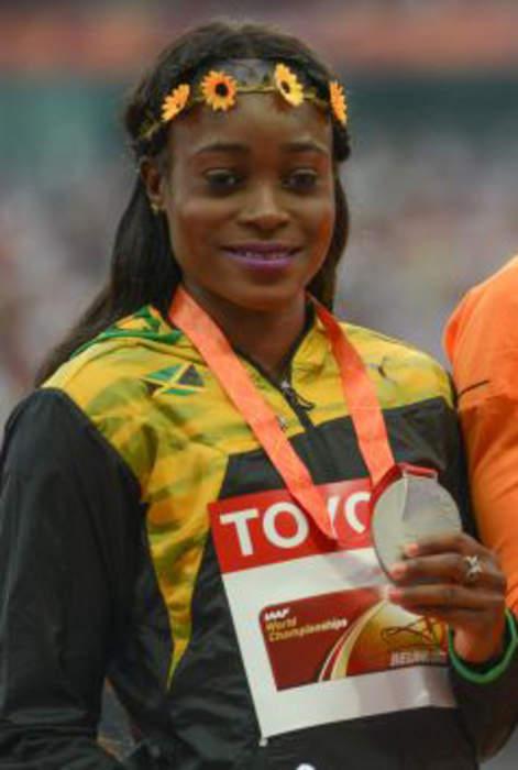 Elaine Thompson-Herah wins Paris Diamond League 100m but misses out on world record