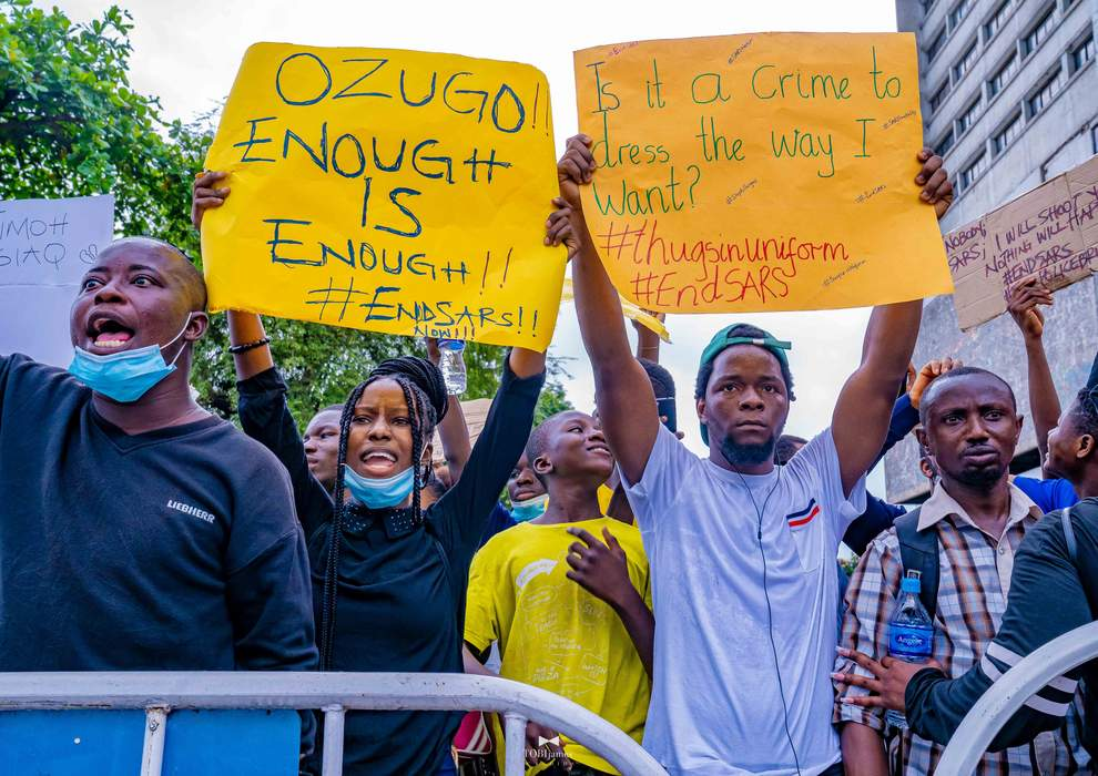 2020 and me: 'EndSARS was our Black Lives Matter'