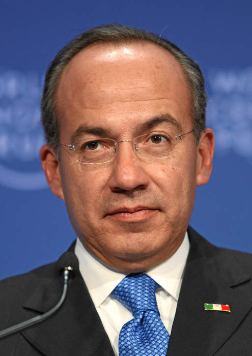 Former Mexican President Felipe Calderon discusses climate change, immigration