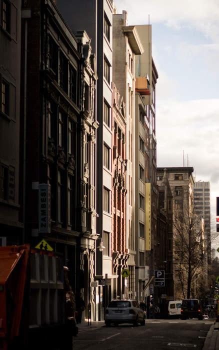 'Everyone knew everyone': TV drama proposes look back on Flinders Lane rag trade