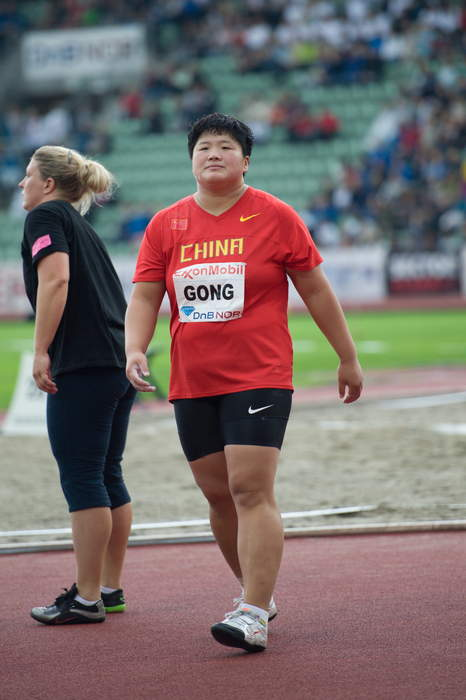 Chinese gold medallist asked about her 'manly' appearance, plans for babies