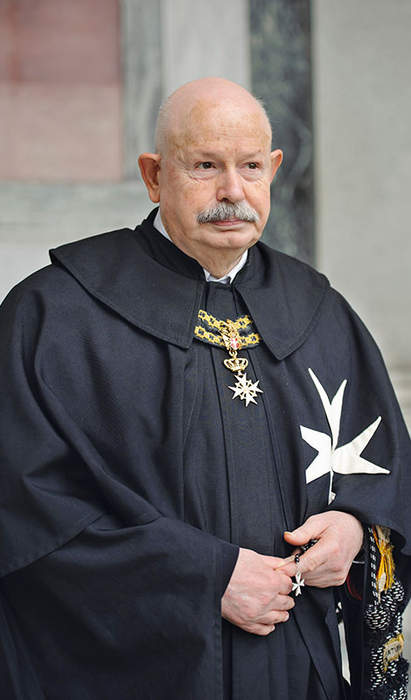 Knights of Malta Grand Master who healed rift with Vatican dies