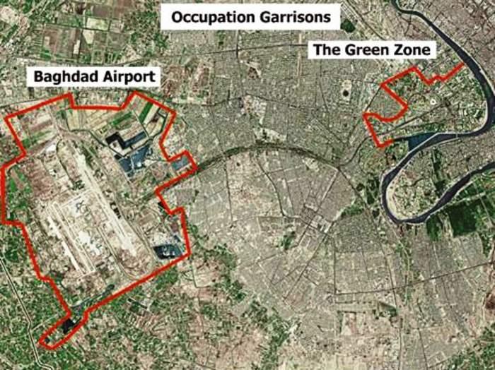 Two rockets fall inside Green Zone, no casualties: Iraqi military
