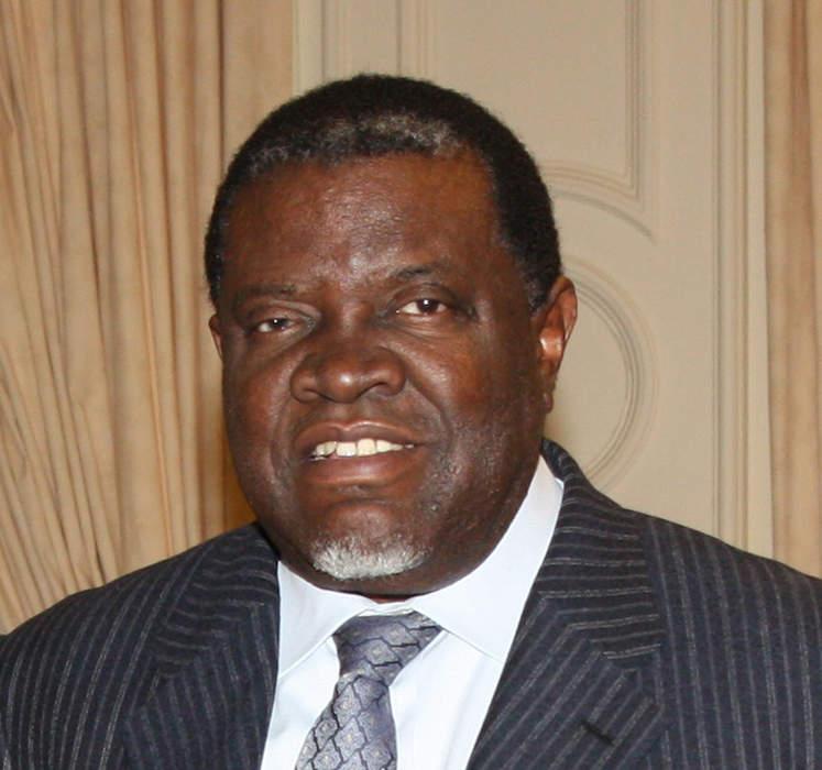 Namibian leader Geingob takes big lead in presidential election