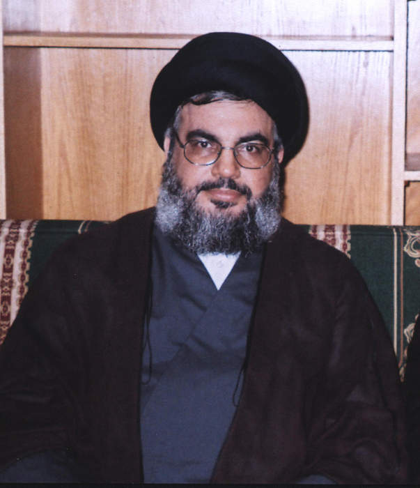 Hezbollah leader says Israeli army to face quick retaliation to drone 'attack' in Beirut