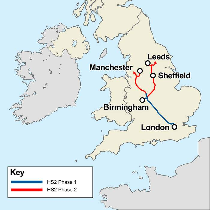 HS2: Scrapping high speed route to Leeds would be 'complete and utter betrayal of the north', government warned
