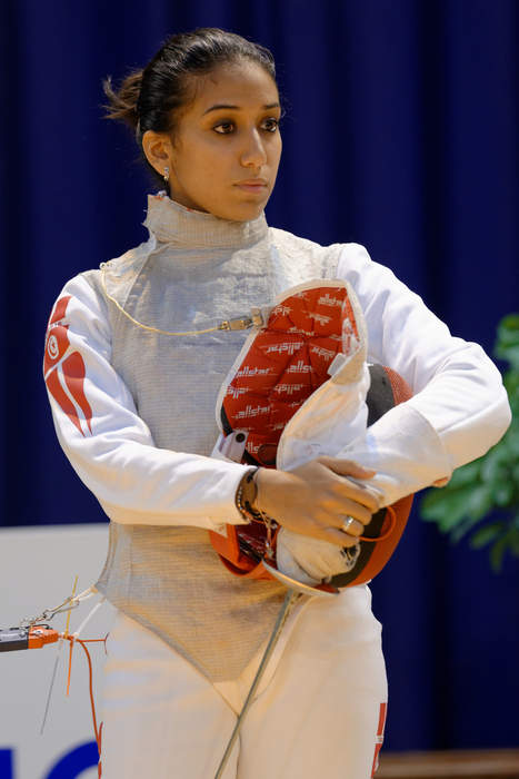 'I don't have to prove anything' - Tunisian fencer Boubakri on making history for Arab women