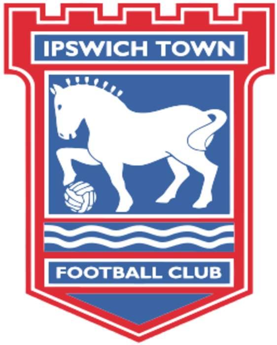 Ipswich Town: Macauley Bonne celebrates goal with fan