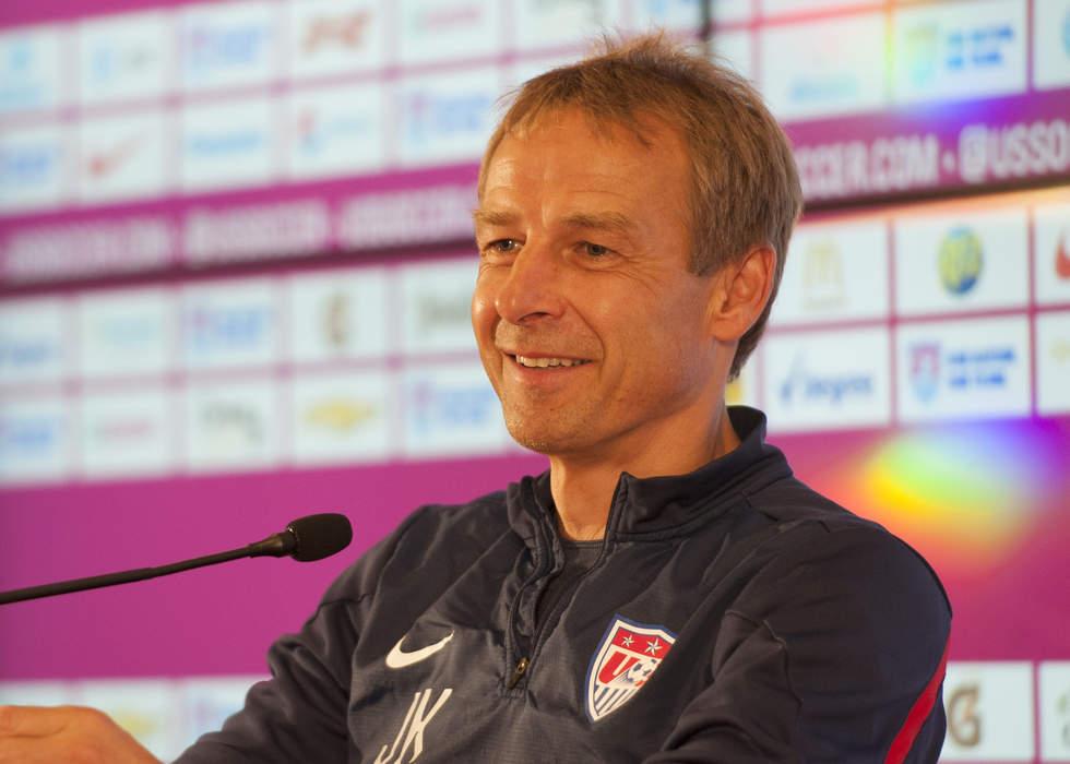 Jurgen Klinsmann: Former Tottenham striker keen on vacant manager's job