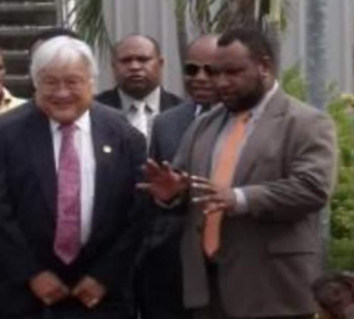 PNG PM arrives for first Australia visit