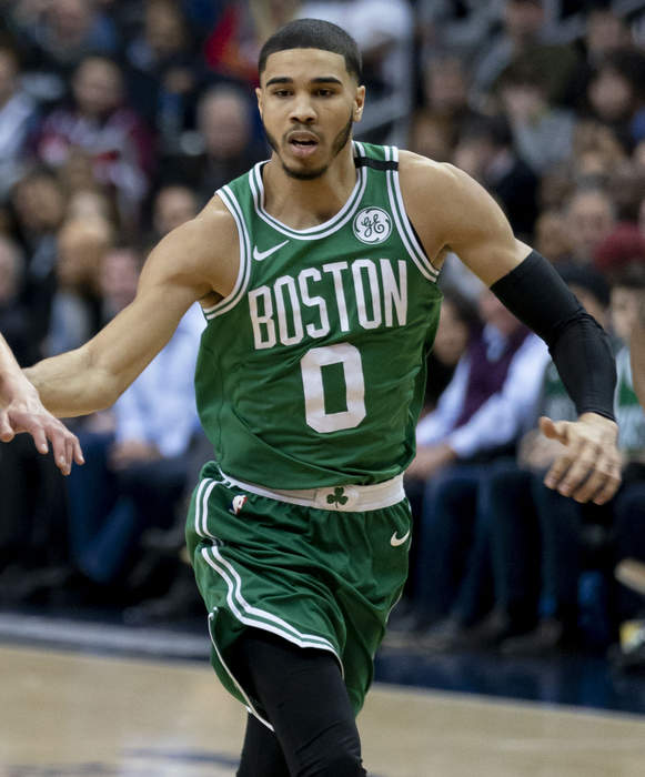 Jayson Tatum scores 50 points, Celtics handle Wizards to secure No. 7 seed in Eastern Conference
