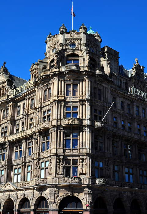 Jenners department store to close after 183 years trading in Edinburgh