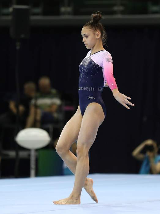 Gadirova twins finish sixth and seventh in gymnastics floor final
