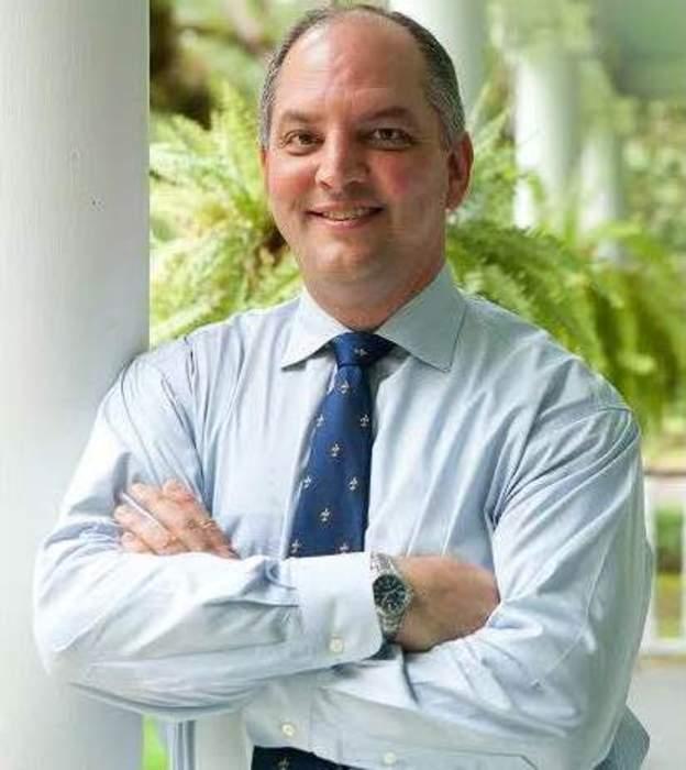 Louisiana gov. evaluates Cristobal impact on state