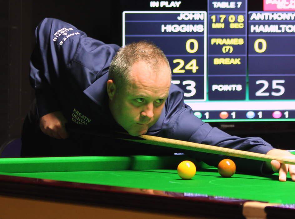 John Higgins misses German Masters after positive Covid-19 test
