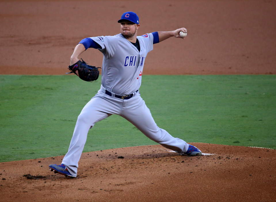 Veteran left-hander Jon Lester agrees to 1-year deal with Washington Nationals, per report