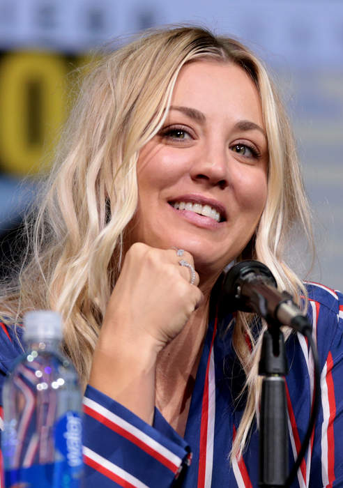 Kaley Cuoco enjoys night out in Berlin with friends after divorce announcement