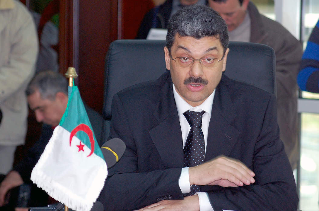 Algeria's ex finance minister questioned in corruption case: state TV