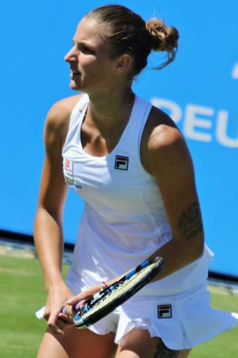 News24.com | Karolina Pliskova stands between Ashleigh Barty and emulating Cawley's Wimbledon glory