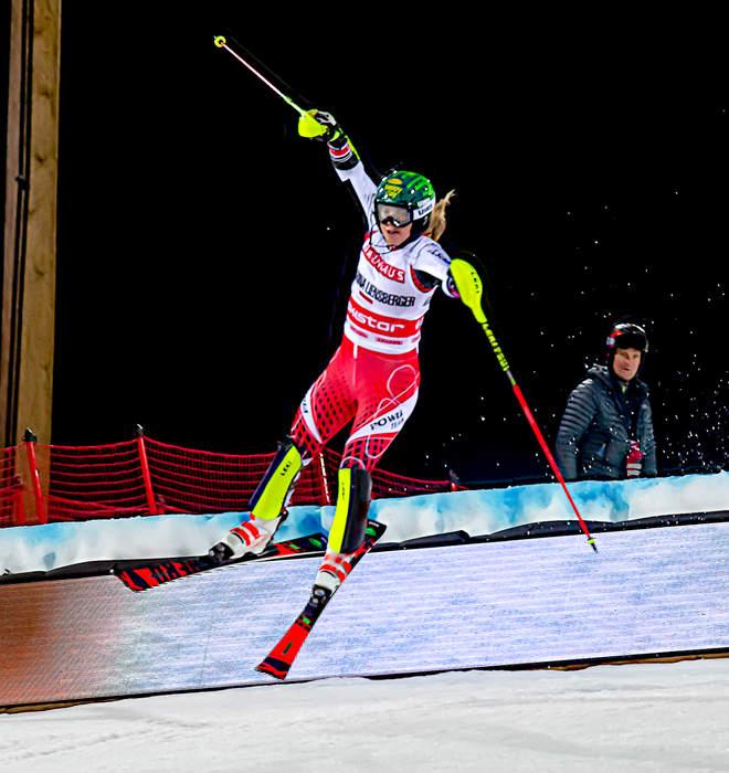 Alpine Ski World Championships 2021: Katharina Liensberger wins women's slalom gold