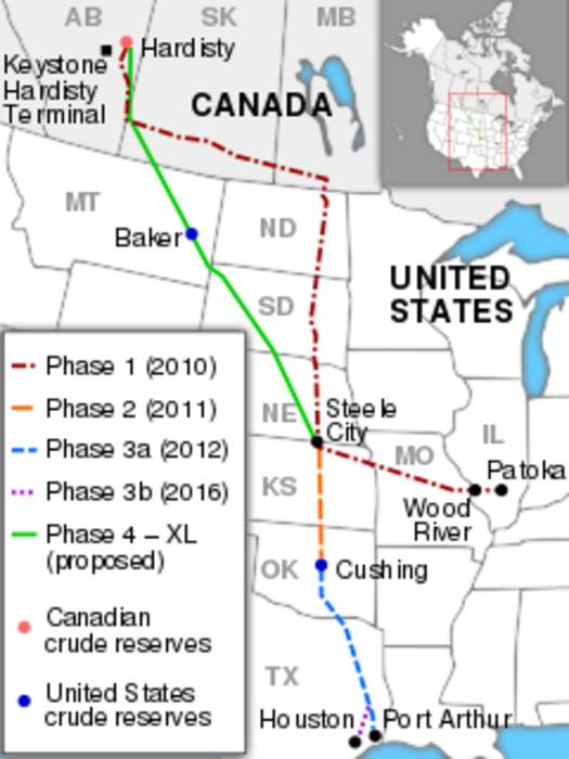 Energy company pulls plug on Keystone XL Pipeline