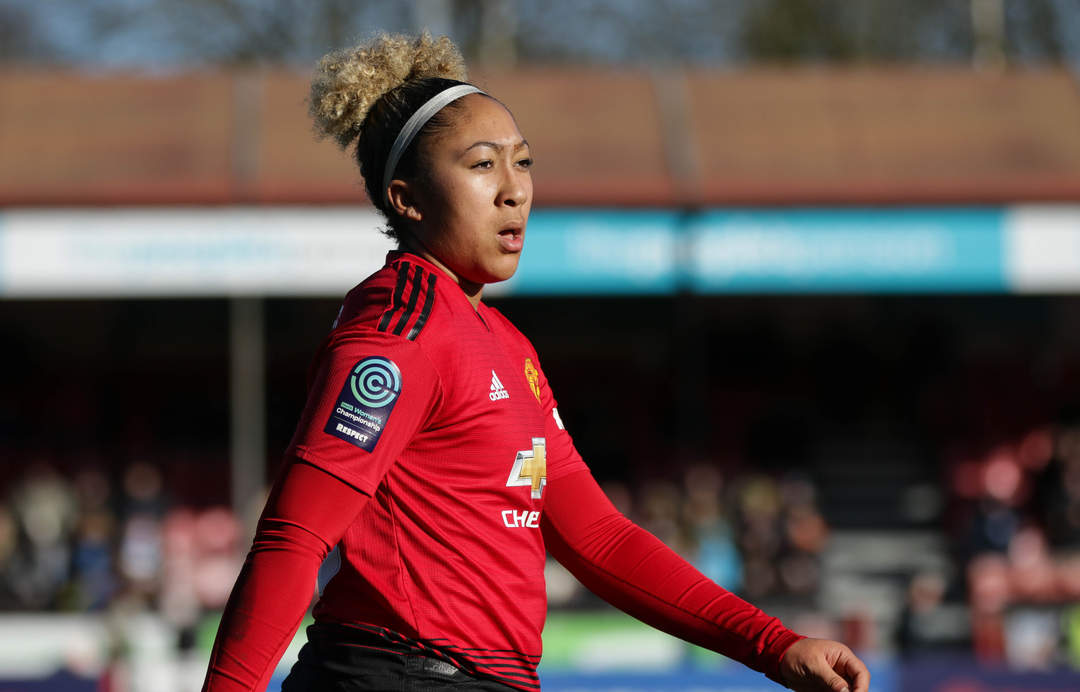 Man Utd women win in historic first match at Old Trafford