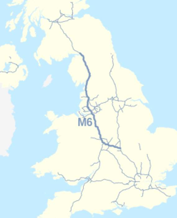 Coronavirus: Driver stopped on M6 lockdown trip with wife in boot