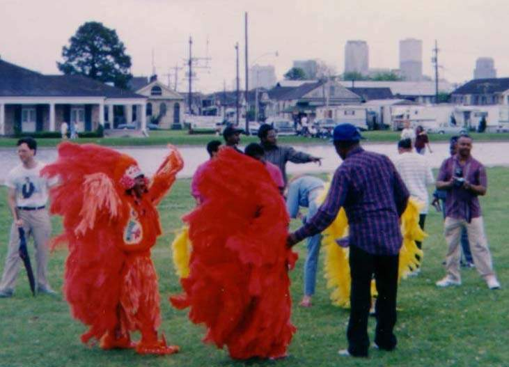 Mardi Gras Indians bring colorful history to New Orleans