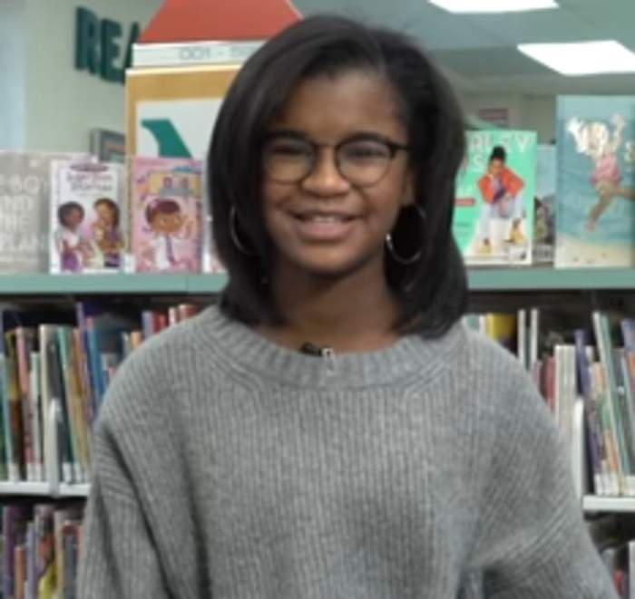 11-year-old holds book drive for stories about black girls
