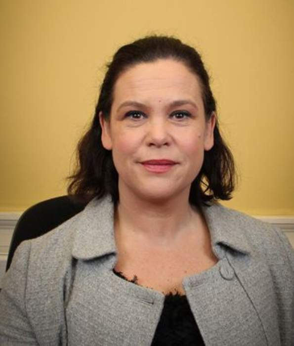 Sinn Féin leader to appear in final Irish election TV debate as poll shows party surging to first place
