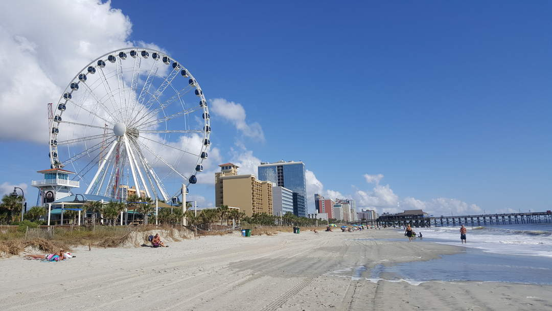 Myrtle Beach begins cleanup after Isaias