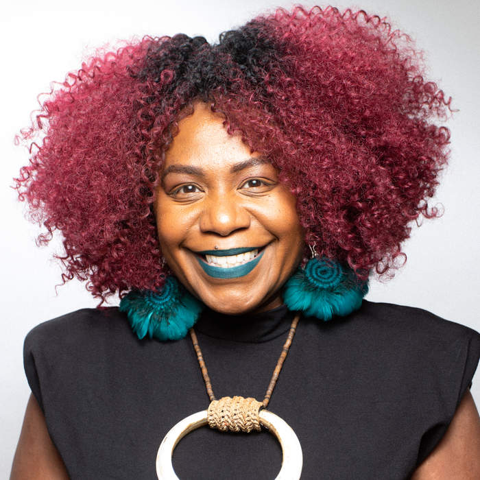 ABC arts host Namila Benson relishes being seen as well as heard