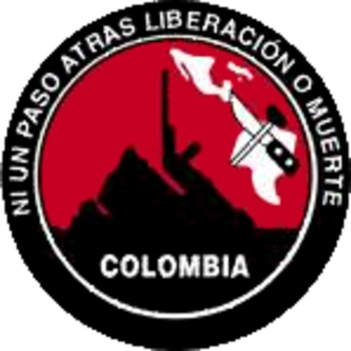Colombia guerrilla group the ELN releases six prisoners