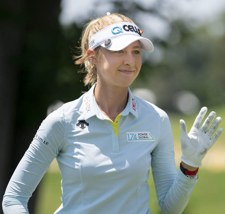 Nelly Korda wins women's golf tournament in Tokyo as USA sweeps both golds
