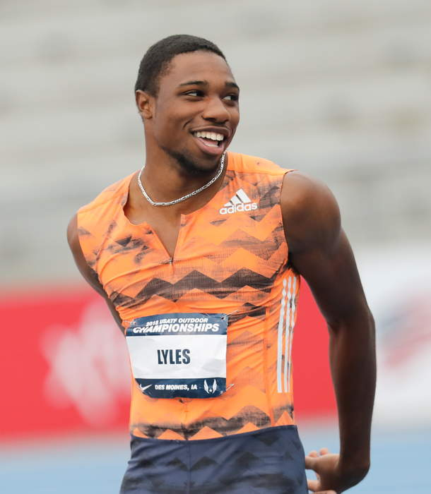 World Indoor Tour: Noah Lyles wins as Charlie Grice and Amy-Eloise Markovc set British records
