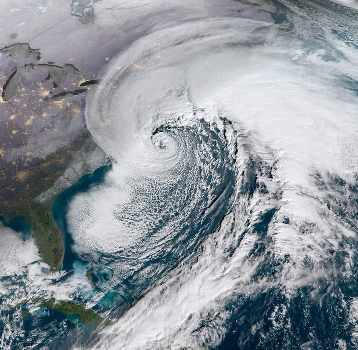 Slow moving Nor'easter drenches Northeast