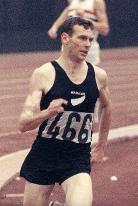 Olympic record breaker who became a scientist