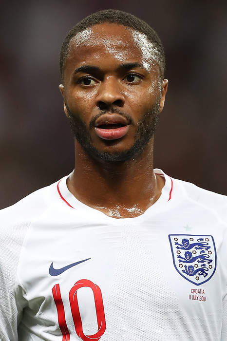 Raheem Sterling slides it past Manuel Neuer to score for England against Germany