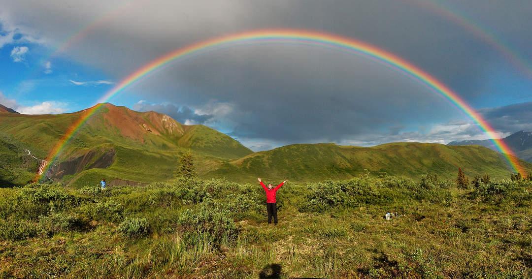Rainbow nation celebrates historic win