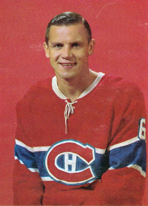 Ralph Backstrom, who won six Stanley Cups with Montreal Canadiens, dies at 83