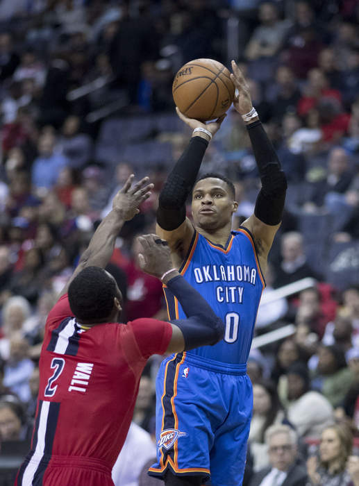Westbrook records historic triple-double in win over Indiana