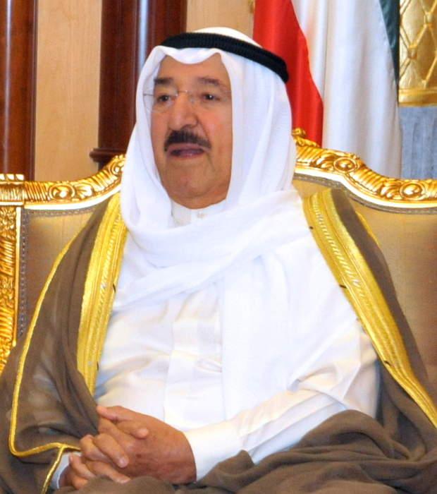 Kuwaiti emir, Iran's Rouhani discuss coronavirus situation: Kuna news agency