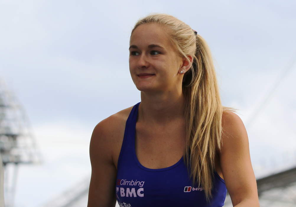 Olympics: Team GB climber Shauna Coxsey on training for Tokyo from her basement