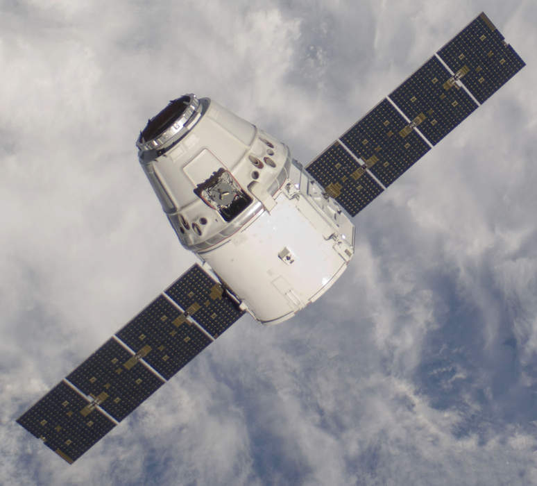Astronauts launch in reused SpaceX Dragon capsule