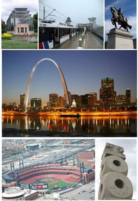 Famed St. Louis arch gets a cleaning