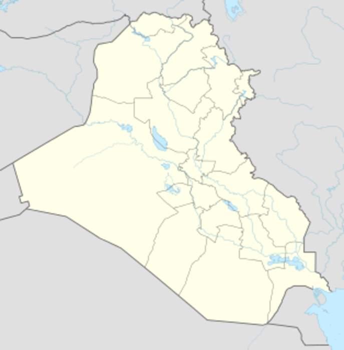 Three U.S. troops wounded in renewed rocket attacks on Iraq's Taji base