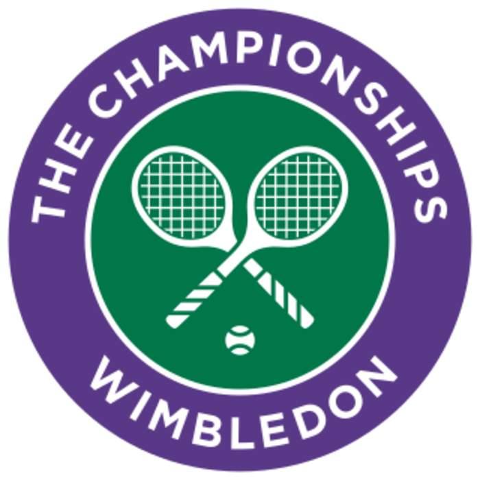 Australian world No. 1 Dylan Alcott celebrates Wimbledon win