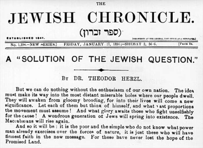 UK Jewish Chronicle owner battles to save titles after collapse