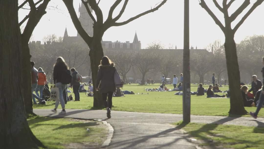 Three charged after mass brawl at Edinburgh Meadows